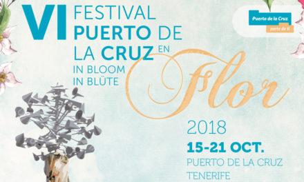 La ciudad turística florece con el festival Puerto de la Cruz en Flor