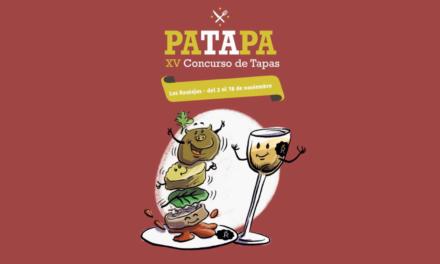 DEL 2 AL 18 DE NOVIEMBRE, XV CONCURSO DE TAPAS 'PATAPA 2018'